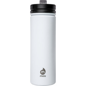MIZU M9 Borraccia con tappo e cannuccia 900ml, enduro white